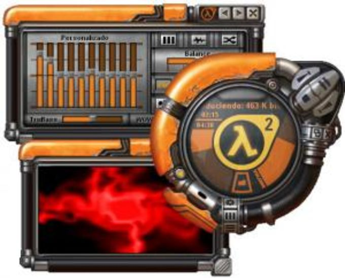 Half-Life 2 Skin for Windows Media Player 9 Series