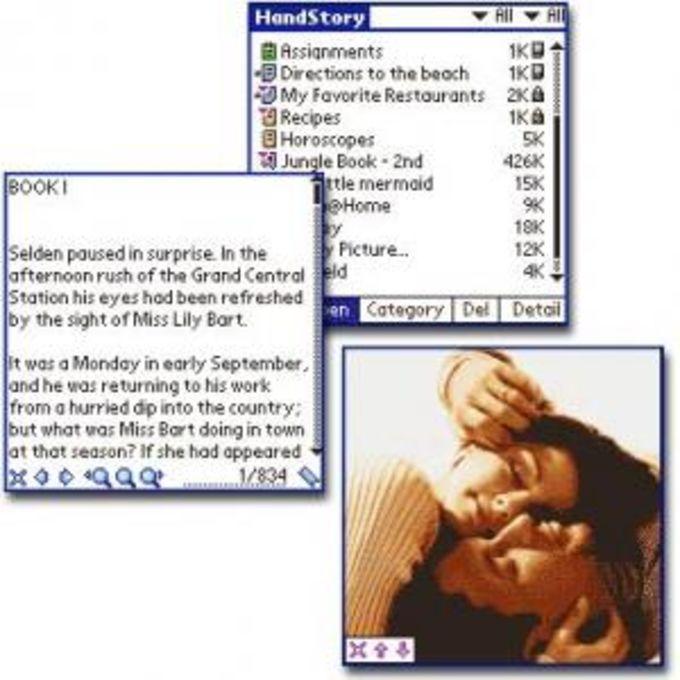 HandStory Media Suite for Palm
