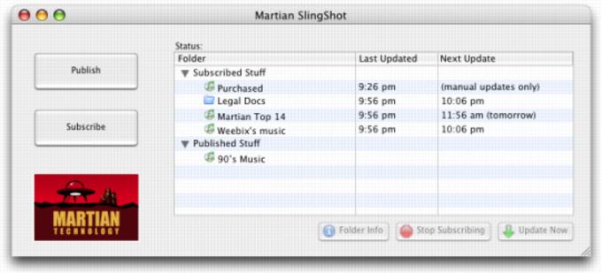 Martian Slingshot