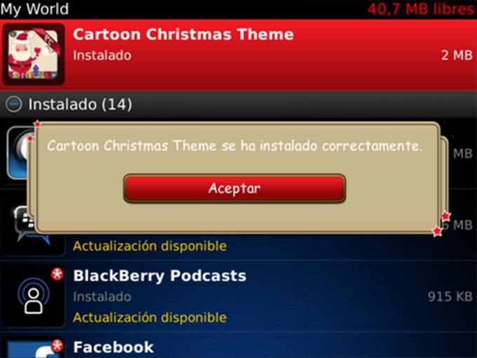 Tema Cartoon Christmas