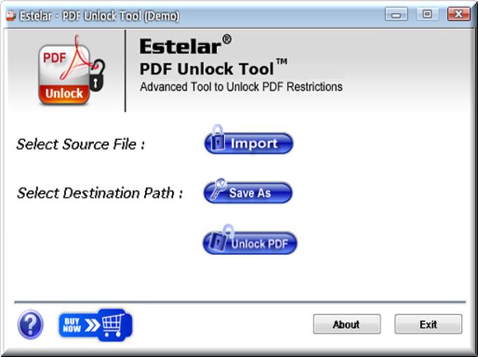 Unlocking PDF
