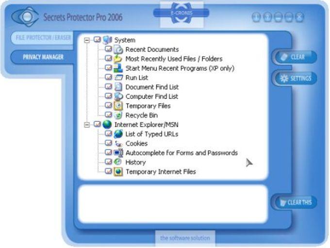 Secrets Protector 2006