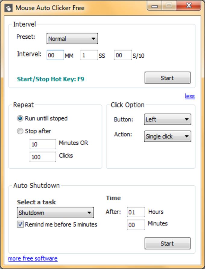 Mouse Auto Clicker Free