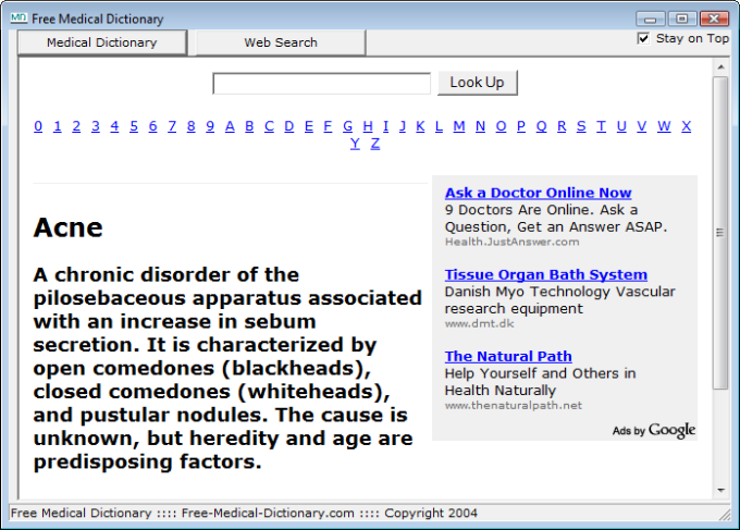 Free Medical Dictionary - Download