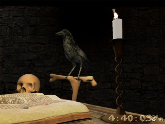 Magus Crow 3D Screensaver