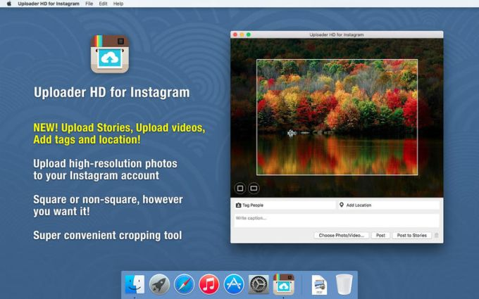 Uploader HD for Instagram Post HD photos videos stories