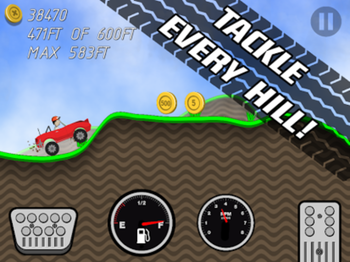 Road Rush Racing Up Hill Climb for Android - Download