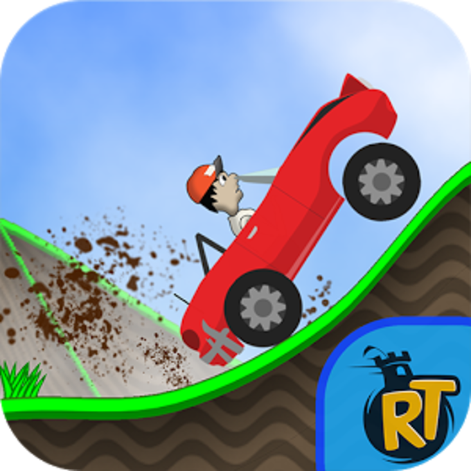 Road Rush Racing Up Hill Climb
