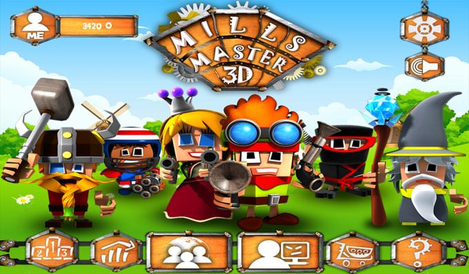 Mills Master 3D