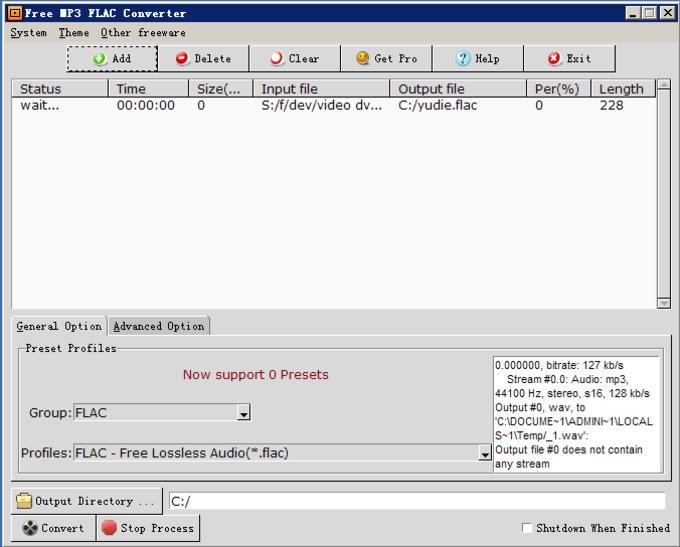 Free MP3 FLAC Converter