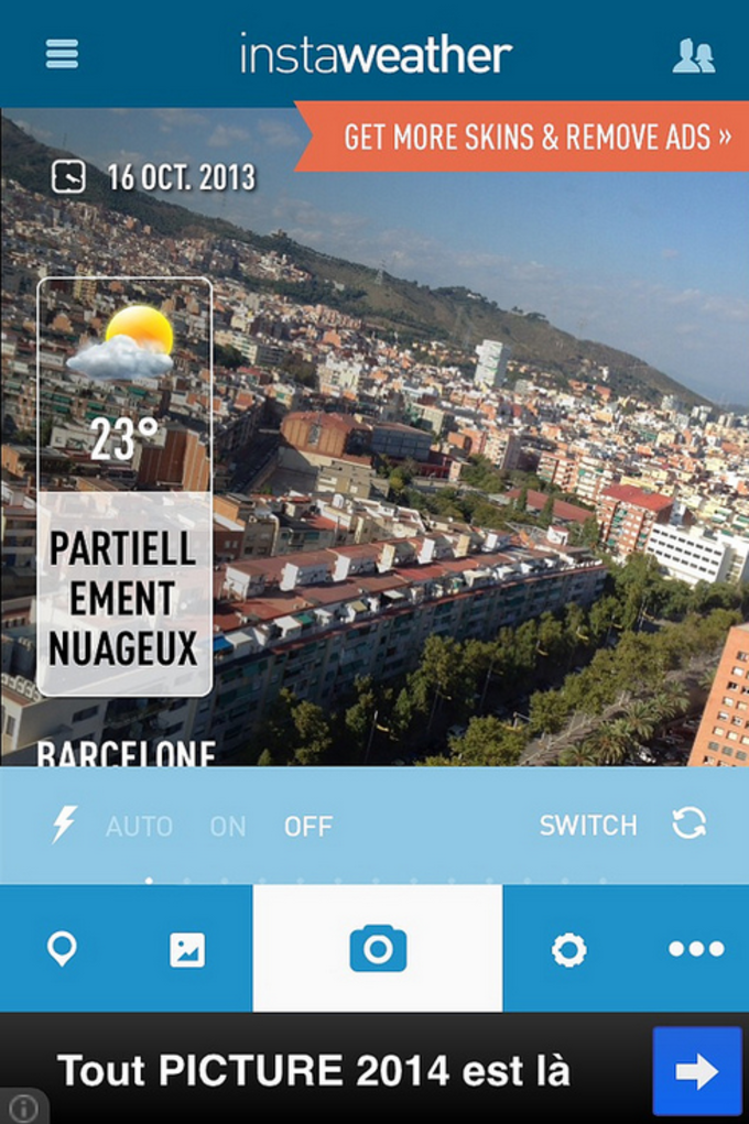 InstaWeather