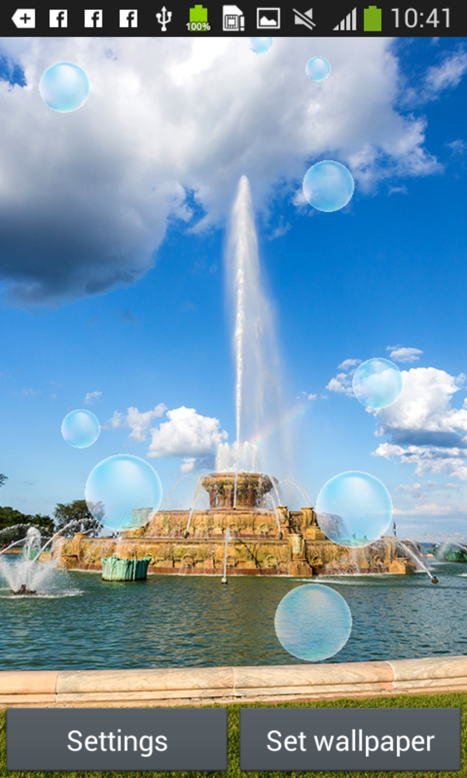 Fountain Live Wallpapers