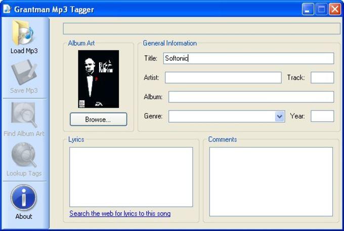 Grantman Mp3 Tagger