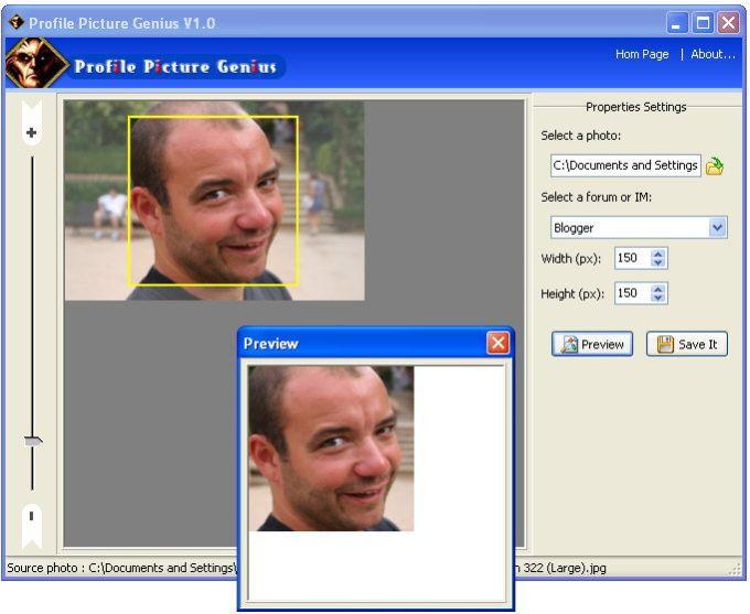 Profile Picture Genius