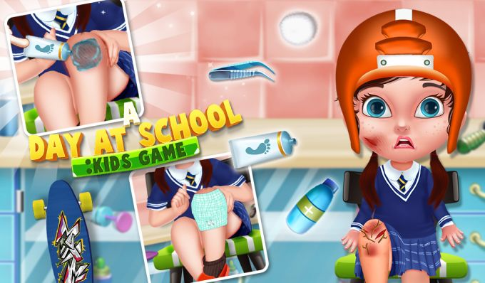 A Day At School : Kids Game