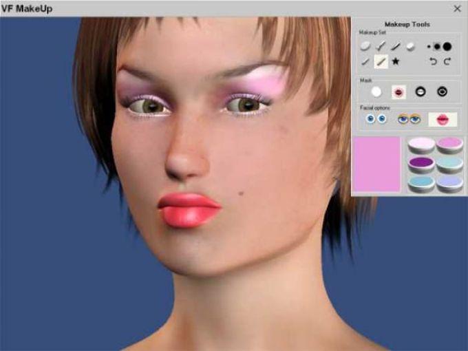 Virtual Fashion Makeup