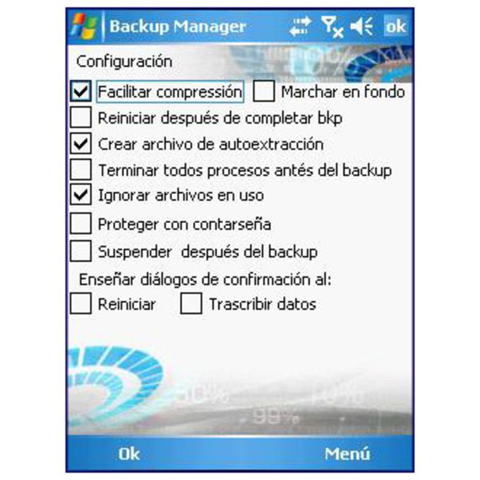 Sunnysoft Backup Manager