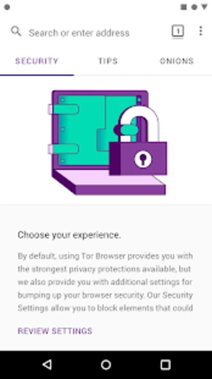 Tor Browser for Android Alpha