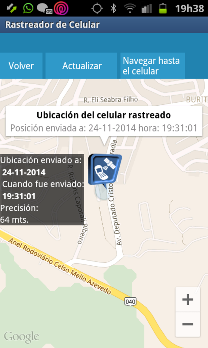 Descargar localizador de celulares para iphone