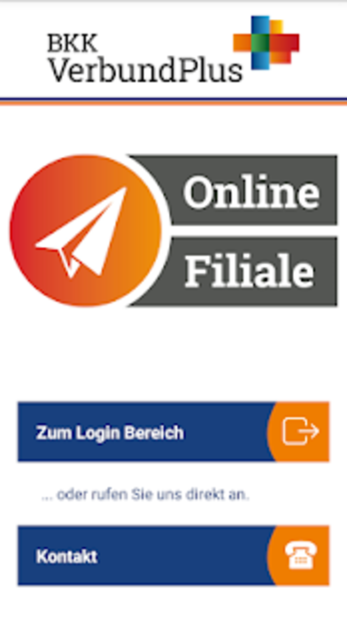 BKK VerbundPlus Onlinefiliale
