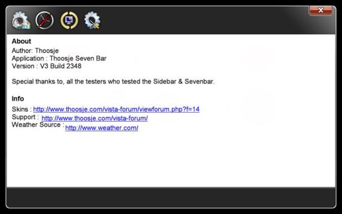 Thoosje Windows Seven Sidebar