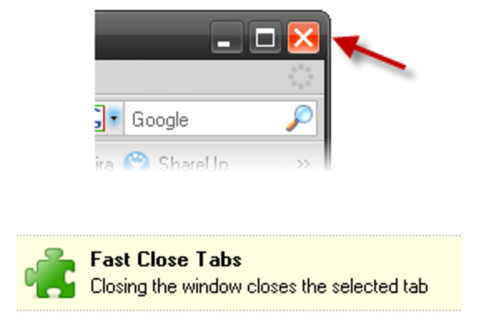 Fast Close Tabs