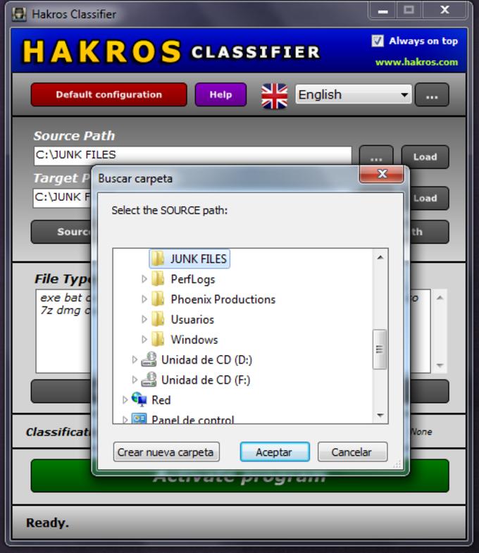 Hakros Classifier
