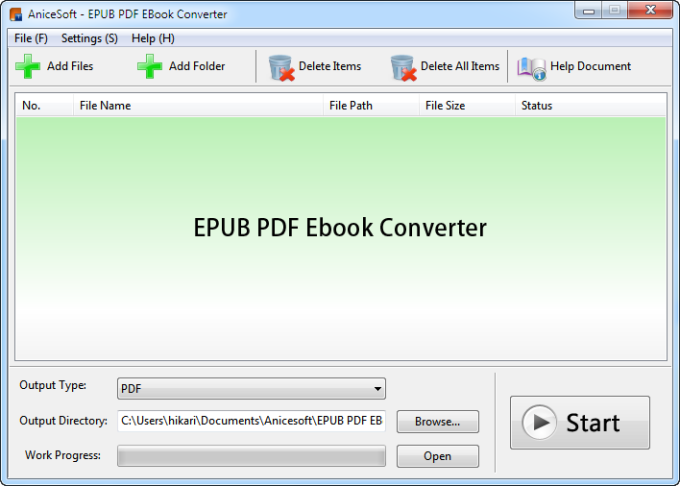 EPUB PDF To EBook Converter