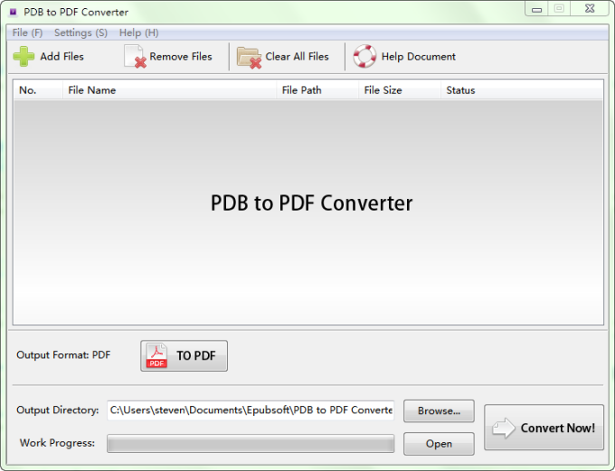 Pdb to pdf converter download pdb to pdf converter convert pdb to pdf pdb to pdf converter is a powerful software to help you to convert your pdb files fandeluxe Gallery