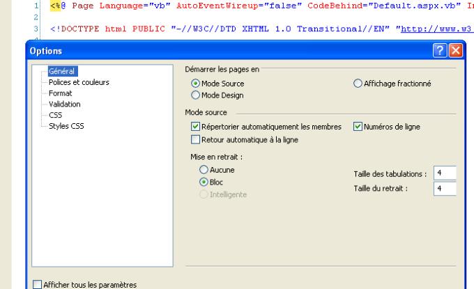 Microsoft Visual Web Developer
