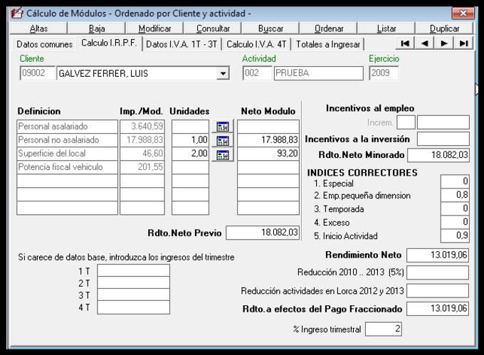 Software de Fiscal para pymes y profesionales
