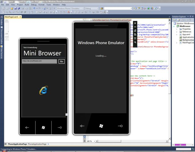 Visual Studio 2010 Express for Windows Phone