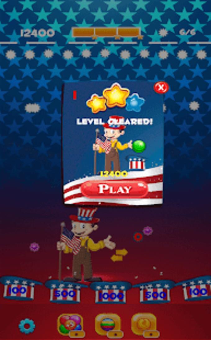 US Bubble Shooter Fun Game 2018