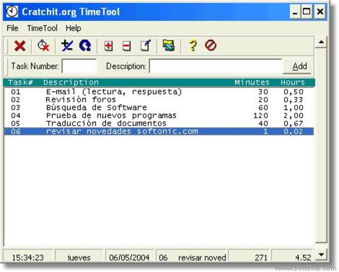 Cratchit.org TimeTool