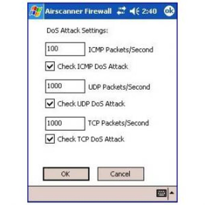 AirScanner Mobile Firewall
