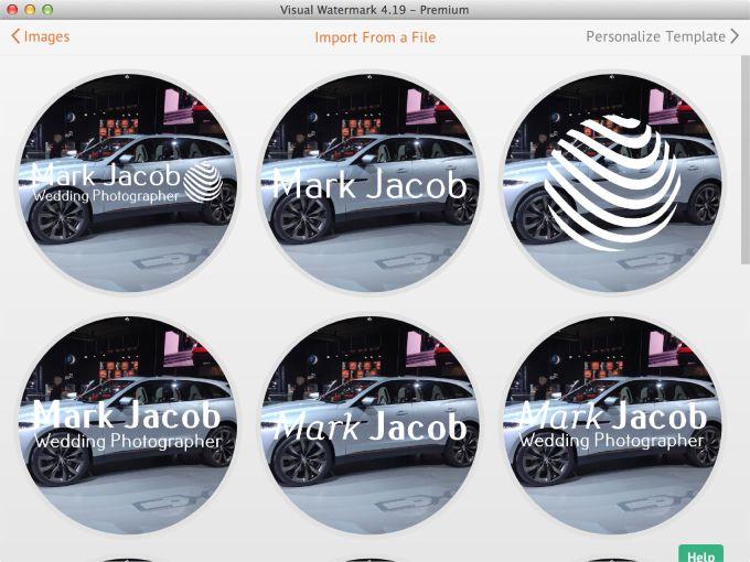 Visual Watermark for Mac