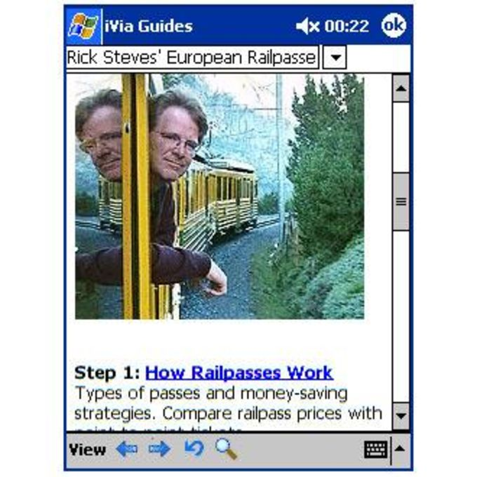 Rick Steves Railpass Guide