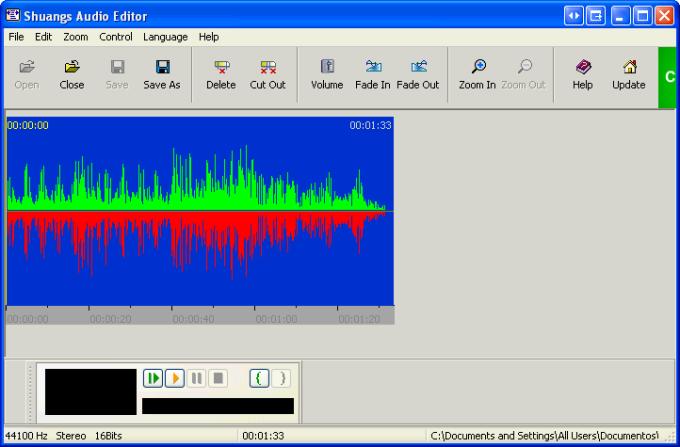 Shuangs Audio Editor