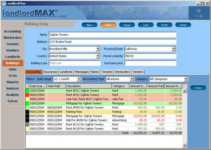 LandlordMax Property Management Software