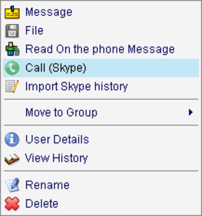 Skype Protocol für Miranda
