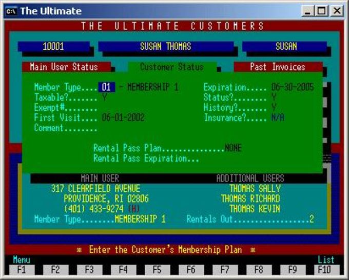 The Ultimate Video Store Software