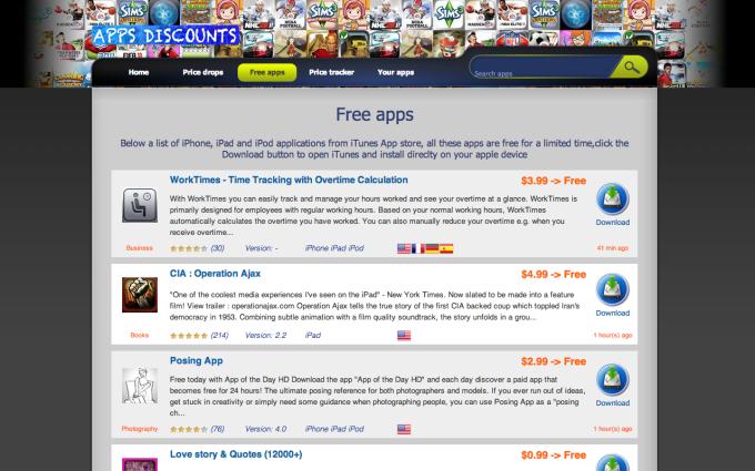 App-Store Discounts Safari Extension