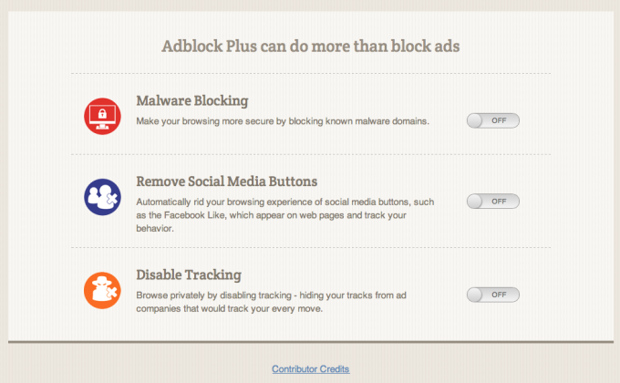 Adblock Plus voor Safari