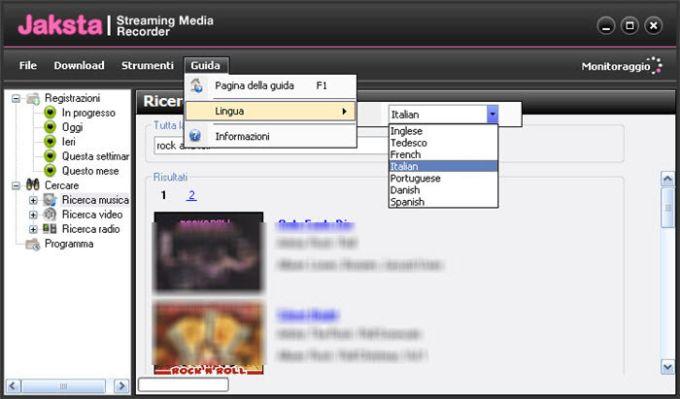 Jaksta Streaming Media Recorder