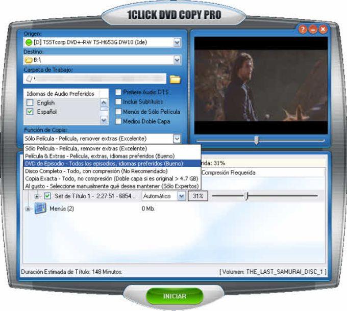 1Click DVD Copy Pro