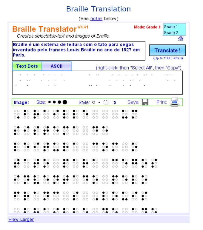 Braille Translator