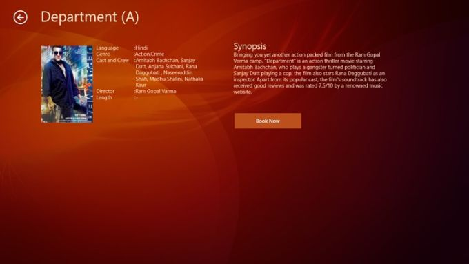 BookMyShow (India) for Windows 10