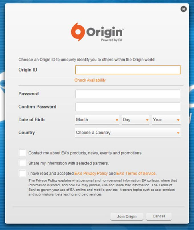 Origin (ex EA Download Manager)