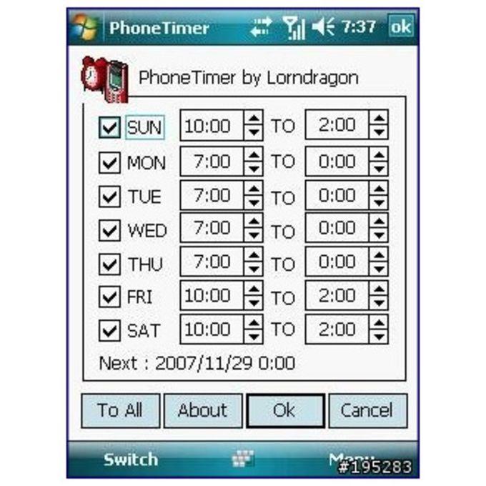 PhoneTimer