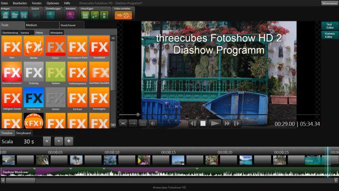 threecubes Slideshow HD